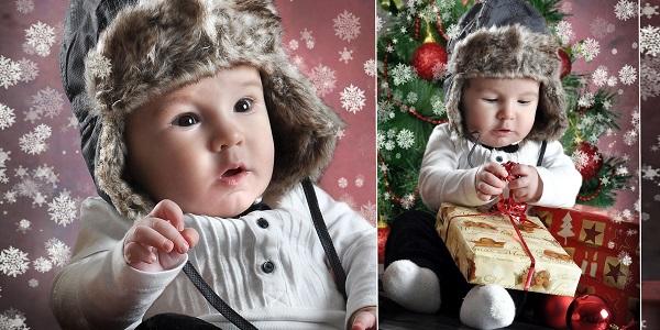 Weihnachtsfotogutschein